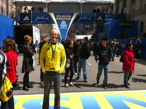 Shawn Stratton, Boston Marathon