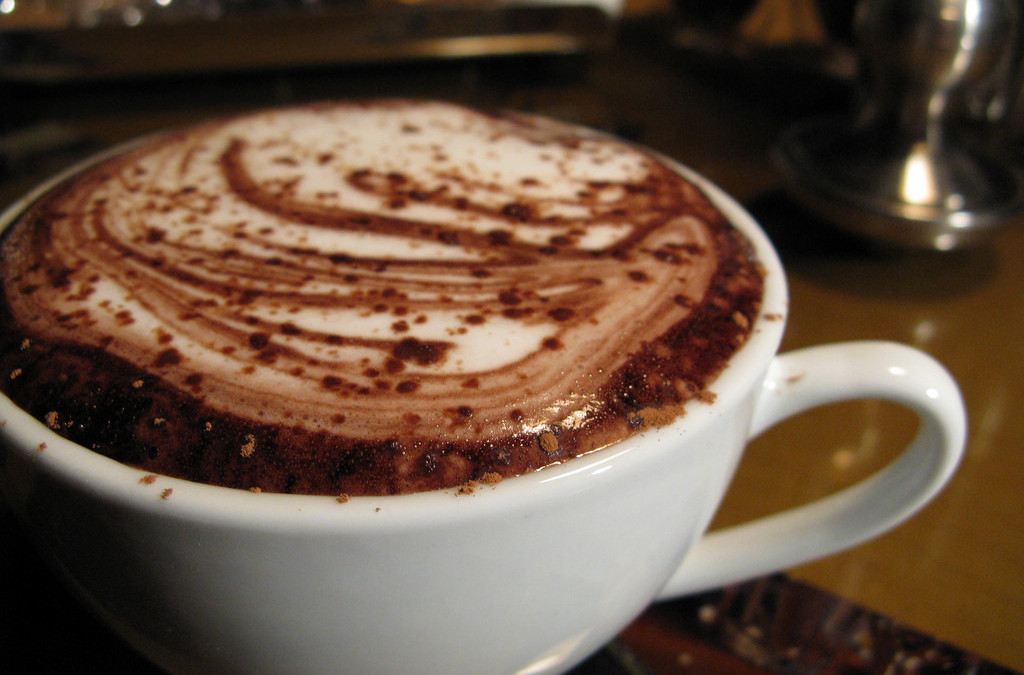 Why I Almost Cried Over Spilled Hot Chocolate
