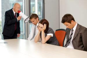 bad-meeting agenda